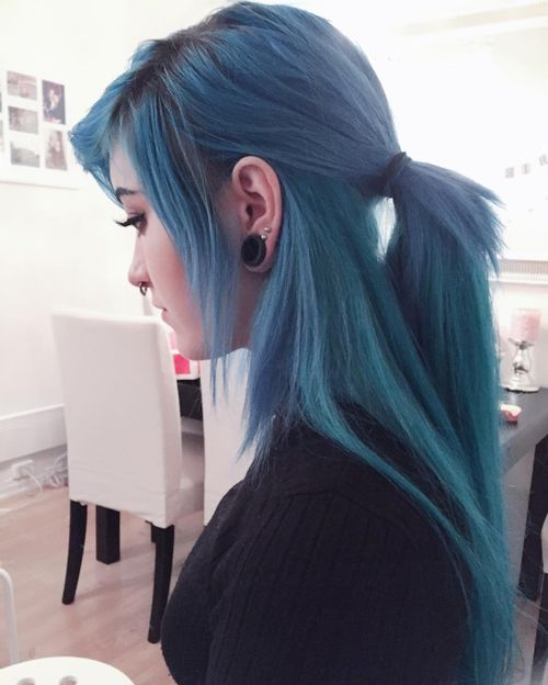 cute emo hairstyles for school