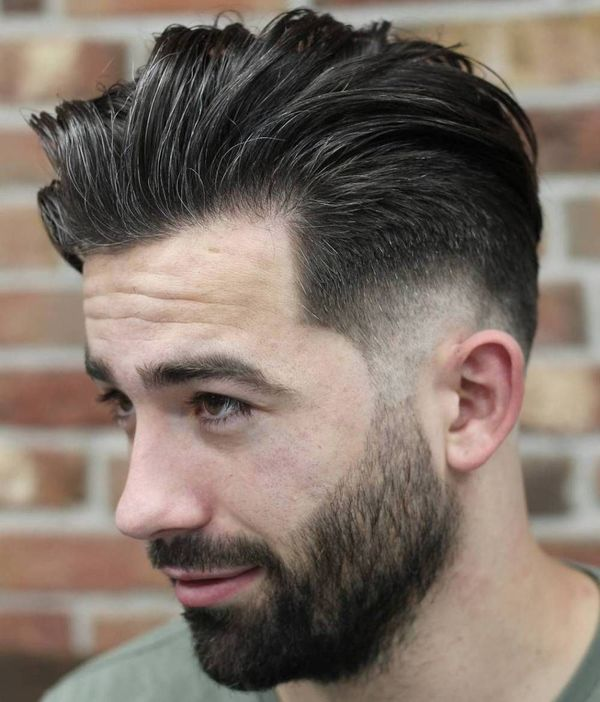 Awesome Short Sides Long Top Haircut Ideas for Guys 2