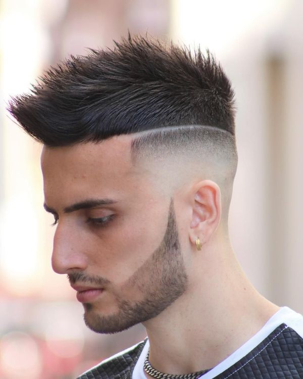 Best Short Sides Long Top Haircuts For Men February 2019