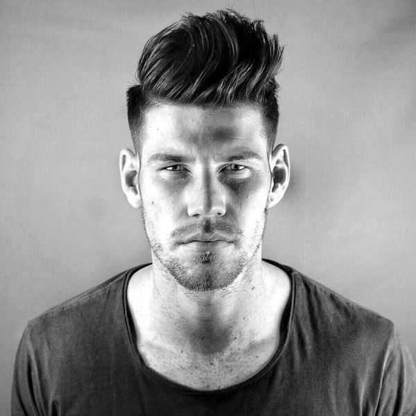 How To Cut Mens Hair Short On Sides Long Top - men hairstyles