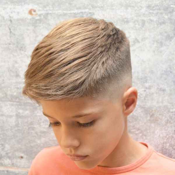 Cute Boys Haircut with Short Hair on Sides Long on Top 2