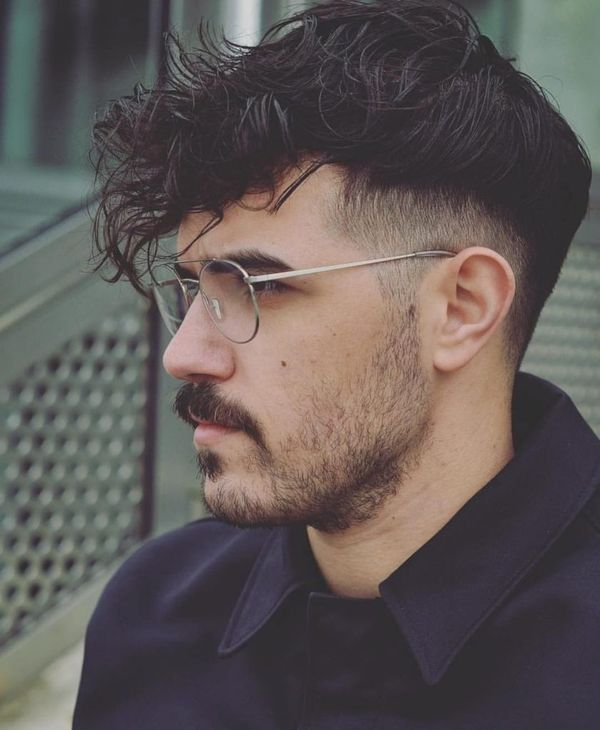 Eyecatching Long on Top Short on Sides Fade Haircut 4