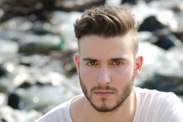 Ideas of Mens Hairstyles with Shaved Sides Long Top 3