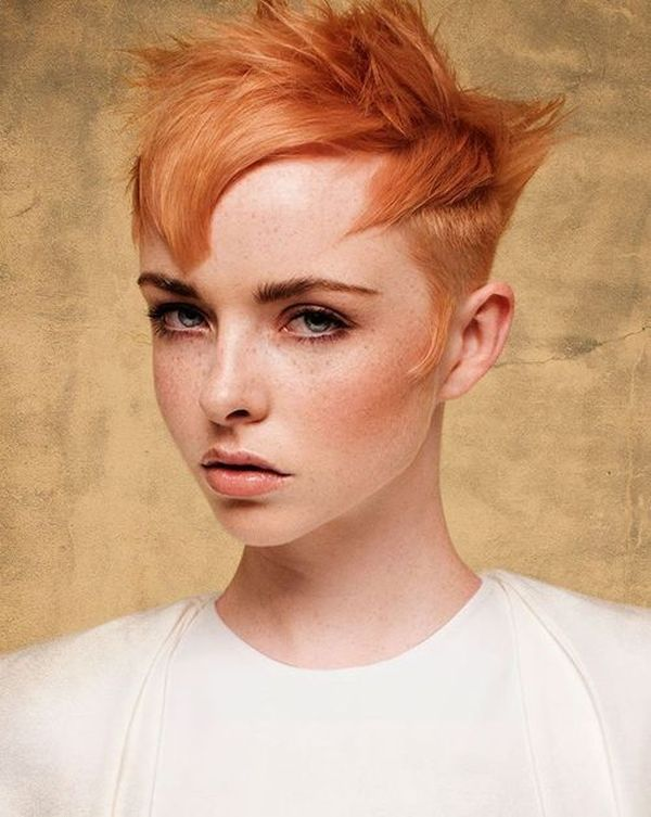 Messy womens undercut hairstyles 2