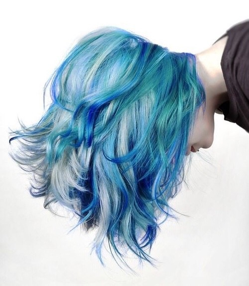 Azure Comeliness of the Balayage
