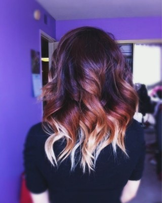 Double-Level Painted Balayage