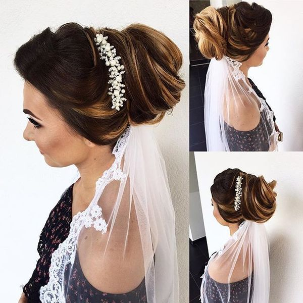 The Regal Loose Bridal Updo