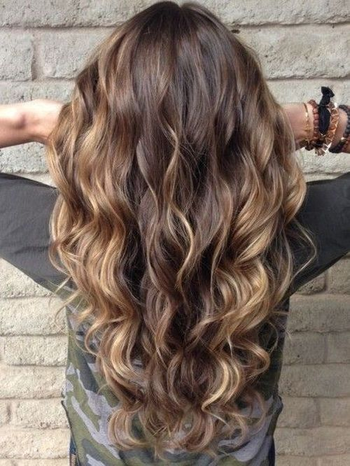 30 Brown Hair With Highlights