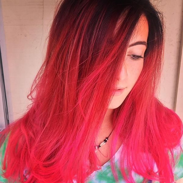 The Extremely Radiant Poise of the Red Balayage