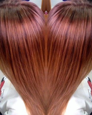 The Astounding Glory of the Red Balayage
