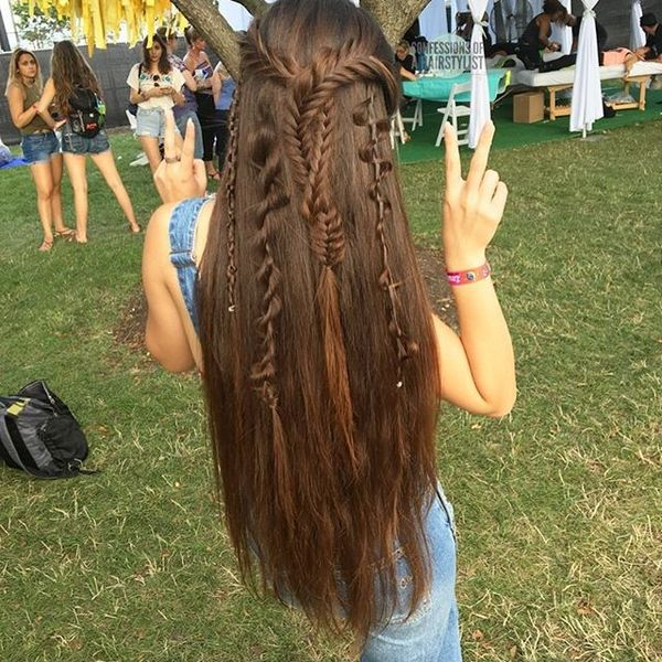 Braid Bomb Style for Young Chick