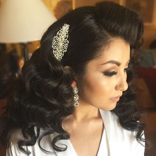 White Wedding Hairstyles: Wedding Hairstyles For Long Hair, Bridal Updos For Long