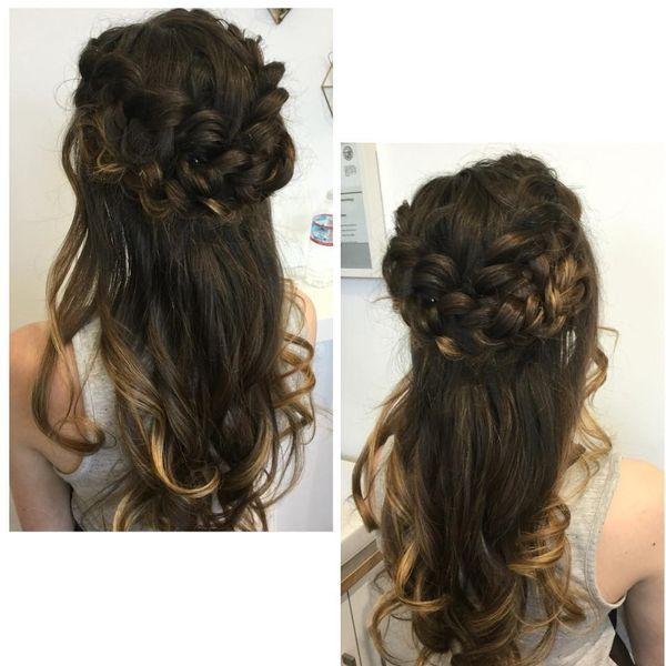 Chic Bohemian Hairstyles with Curls 4