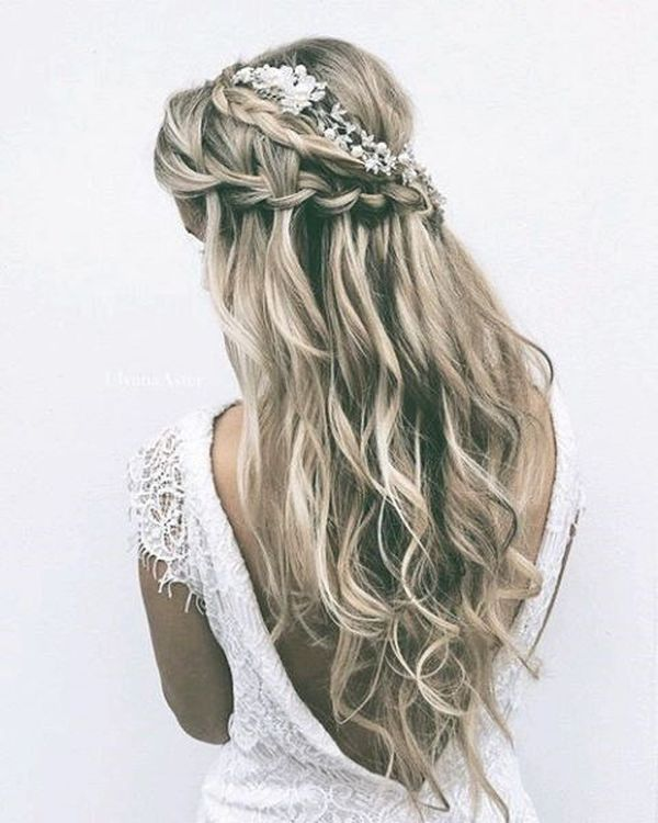 Boho Hairstyles (Perfect For a Wedding) 3