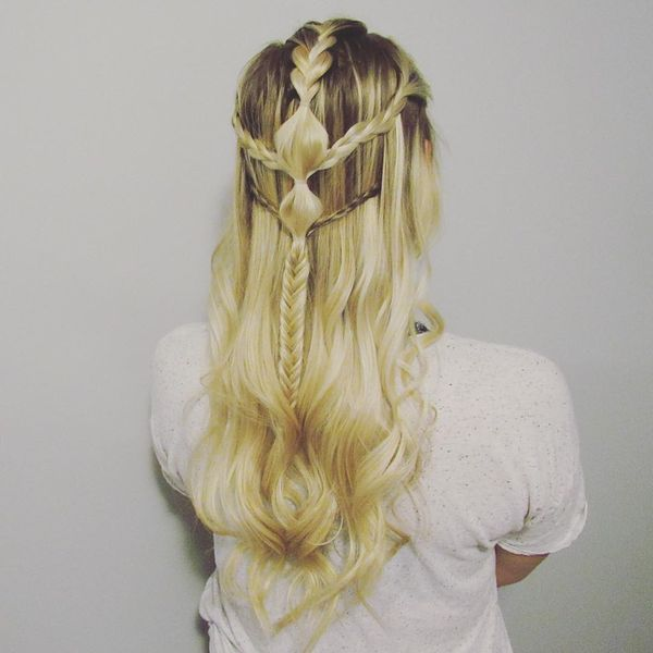 Elf princess braids