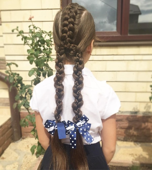 From one braid into two