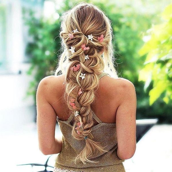 Messy Boho Hairstyles for Long Hair 2