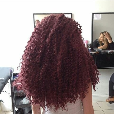 Stylish crochet braids design