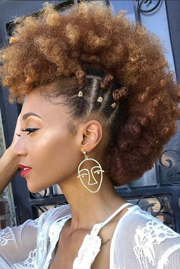 curly mohawk hairstyles 40 mohawk hairstyle ideas for black women