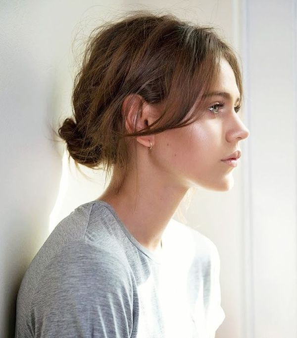 How To Do A Messy Bun With Long Thin Hair 3