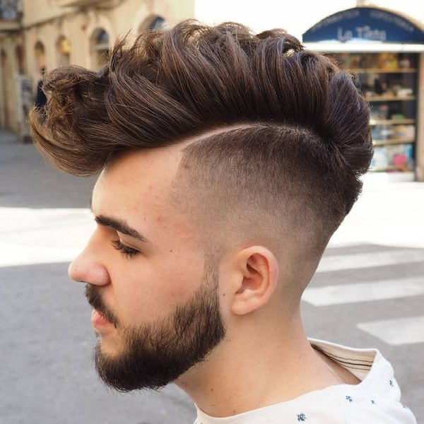 Male Faux Mohawk Ideas For Long Hair 1