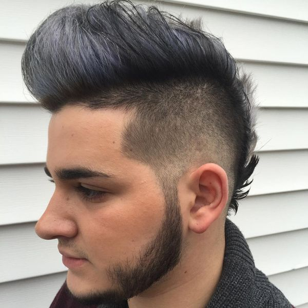 Male Faux Mohawk Ideas For Long Hair 2