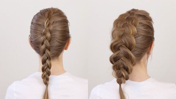 Quick Braiding Hairstyles For Long Fine Hair 1