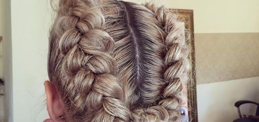 1 Dutch braided wreath