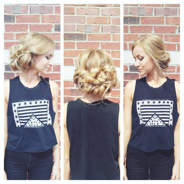 Ways to Style Long Hair for Prom 1
