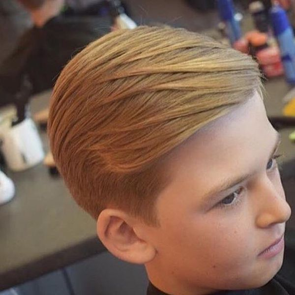 Natural Long Comb Over