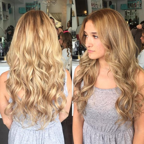 Gorgeous Long Hair Styles for Prom 1