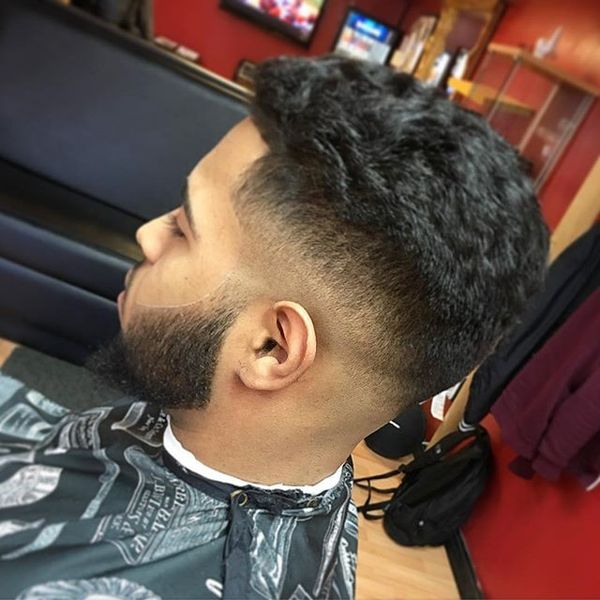 Blowout Haircut for Guys - 24 Mens Blowout Fade