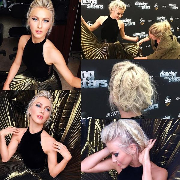 Give These Julianne Hough Updo Styles a Try 3