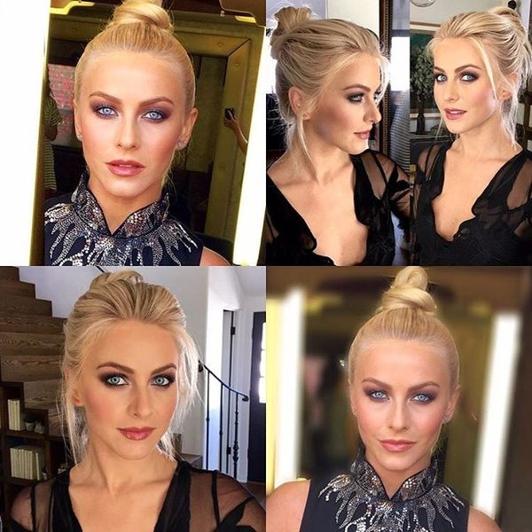 Give These Julianne Hough Updo Styles a Try 4