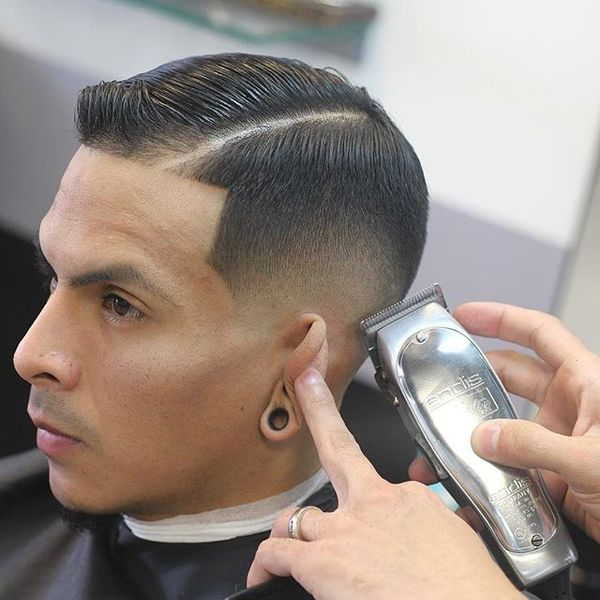 Rolling Back Comb Over