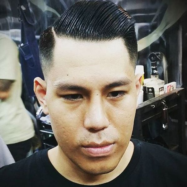 24 The Pomaded Crew Cut for the Fan of the Oriental Culture