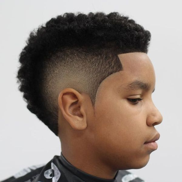 Good Haircuts for Boys with Thick Curly Hair 2