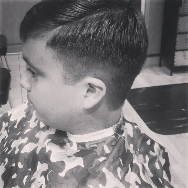 Tapered sides