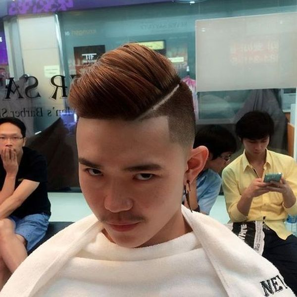 Asian male hairstyles with side part 4