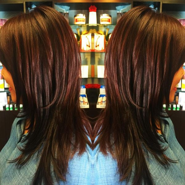 Awesome Long Hair with Shag Tips