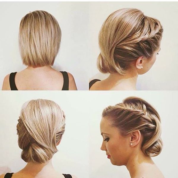 Short Pinned Up Hairstyles 1