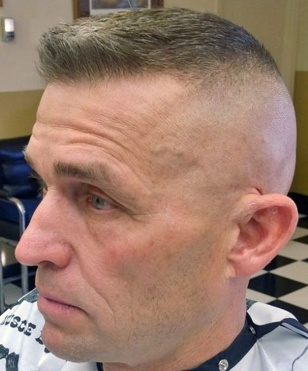 Classic Military High And Tight Hairstyle 4