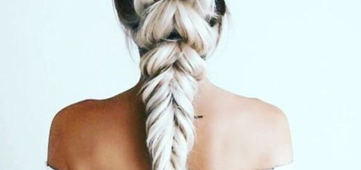 Fabulous Braid with Elastics for Straight Hair