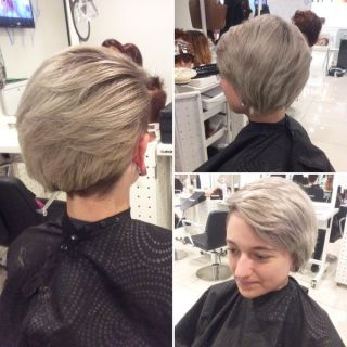 Great Ash Bob with a Shaved Temple0