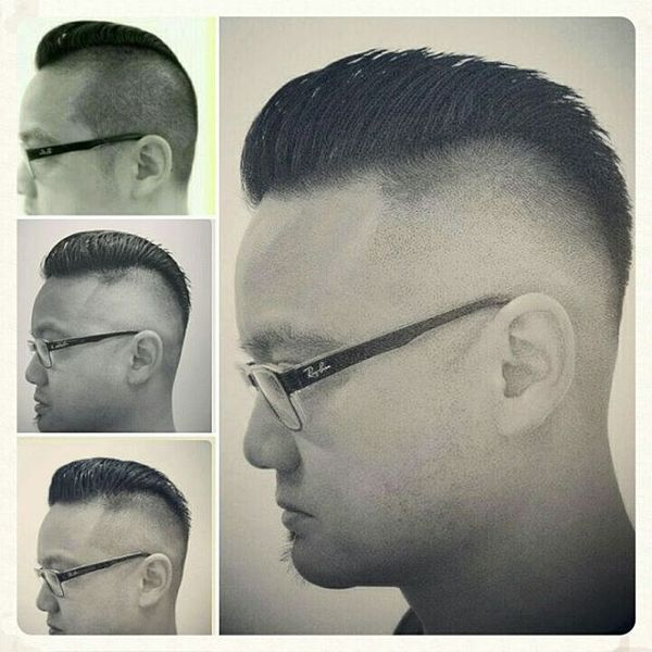 Great examples of Asian fade haircut for men 1