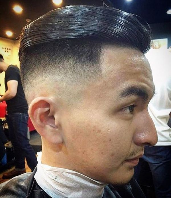 Great examples of Asian fade haircut for men 4