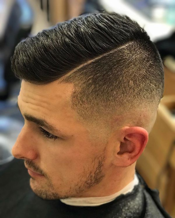 High And Tight Comb Over 4