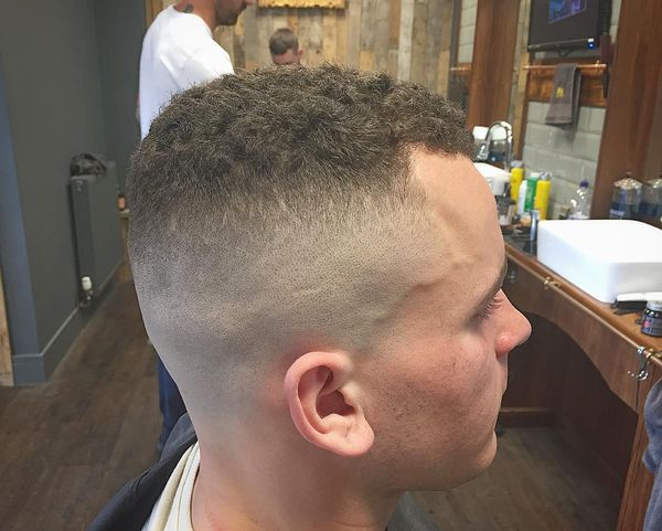 High And Tight Fade Cut 4