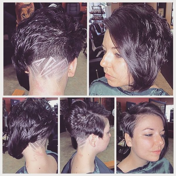 Impressive Side Movement with a Shaved Design0