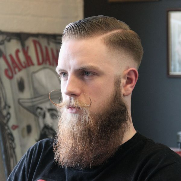 Modern High And Tight With Beard 4